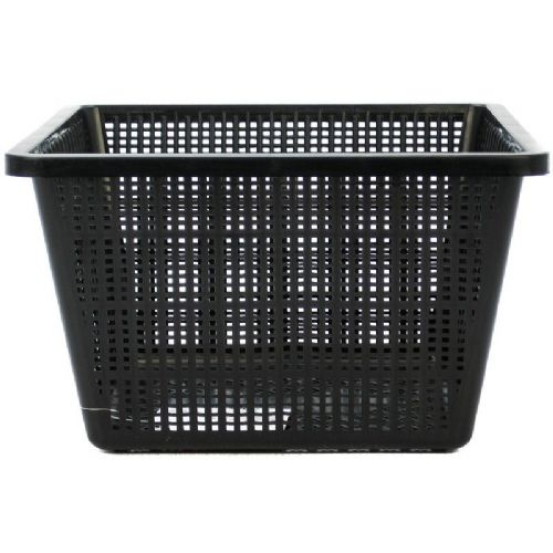 Black Square Plant Basket Large